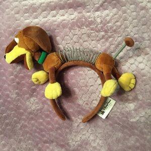 Slinky Dog Disney Headband (Minnie Ear Style)